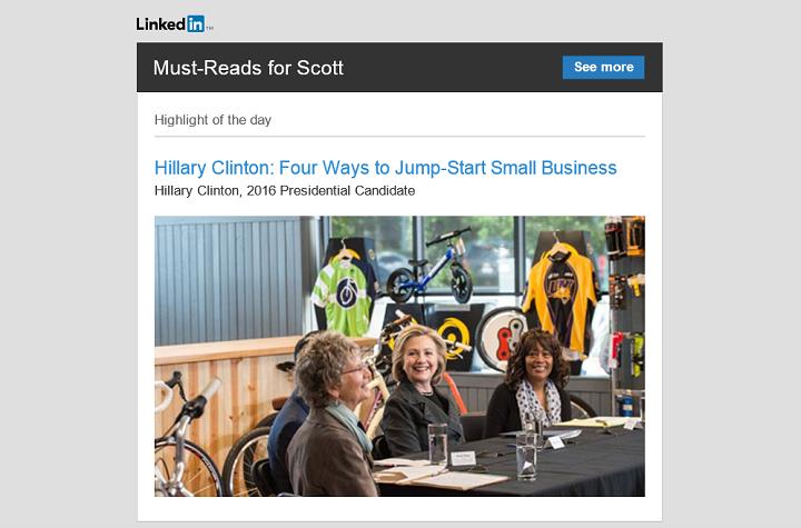 Should LinkedIn Allow Political Candidates to Use Its Publishing Platform?