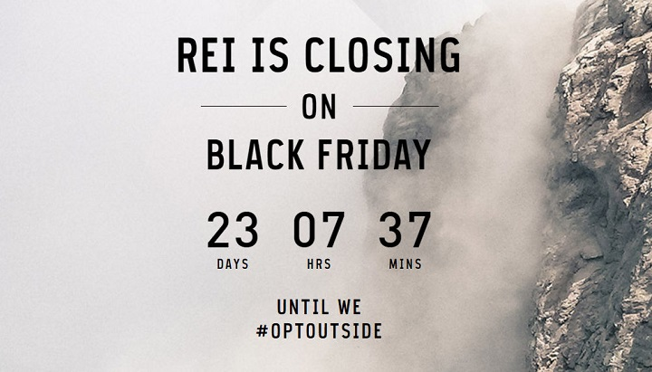 Why REI's #OptOutside Anti-Black Friday Stand Is a Winner